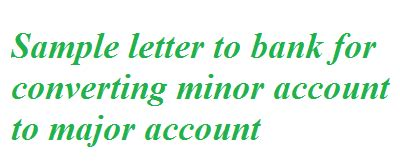 Application letter to branch manager of bank